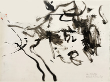 Willem DE KOONING - Drawing-Watercolor - Sans titre