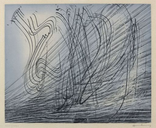 Hans HARTUNG - Stampa-Multiplo - G1973-10