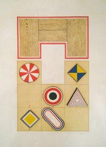 Lucio DEL PEZZO - Painting - Untitled, 1969