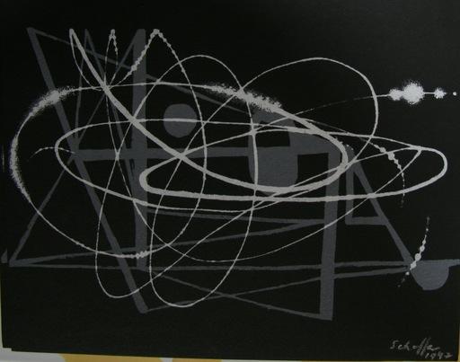Nicolas SCHÖFFER - Radierung Multiple