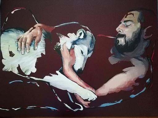 Diana KIROVA - Painting - Io per te e tu per me