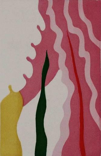 Giulio TURCATO - Print-Multiple - L'absente