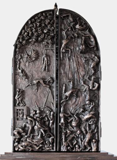 Christian LIGNAIS - Skulptur Volumen - Sculpture polyptyquement incorrecte