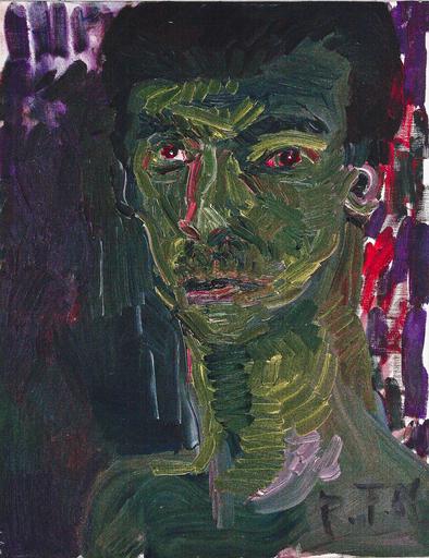 Rainer FETTING - Peinture - Senza titolo