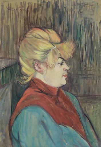 Henri DE TOULOUSE-LAUTREC - Gemälde - Femme de Maison
