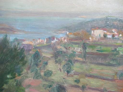 Eric NORSELIUS - Painting - Paysage  de Bretagne