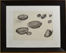 Miquel BARCELO - Print-Multiple - Serie Lanzarote