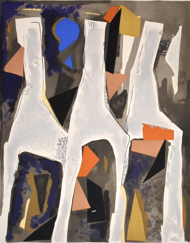 Marino MARINI - Print-Multiple - Figures of the Sacred Spring