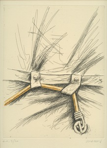Peter KLASEN - 版画 - GRAVURE REHAUSSÉE AQUARELLE SIGNÉE CRAYON HANDSIGNED ETCHING