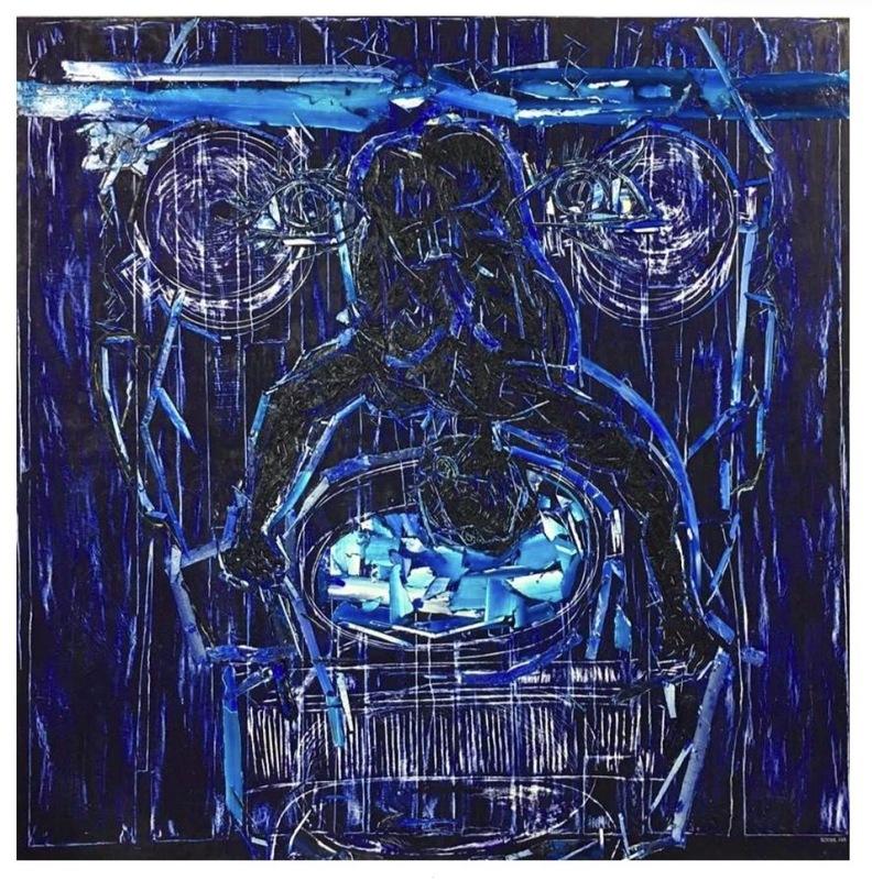 Arnaldo ROCHE RABELL - Peinture - Untitled