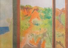 Francesco MENZIO - Dibujo Acuarela - Paesaggio