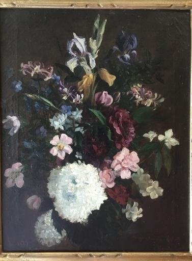 Blanche ROULLIER - Painting - Mazzo di fiori