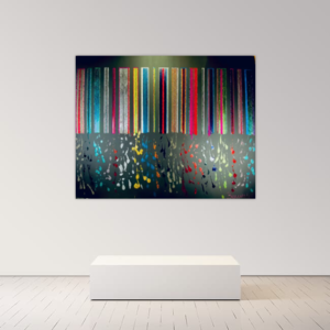 Alexandra BERNARDINI - Painting - 150x190cm Celebration of Life 12