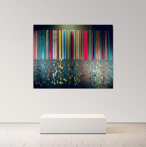 Alexandra BERNARDINI - Gemälde - 150x190cm Celebration of Life 12
