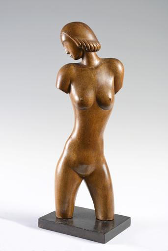 Franz HAGENAUER - Sculpture-Volume - A TORSO OF A WOMAN