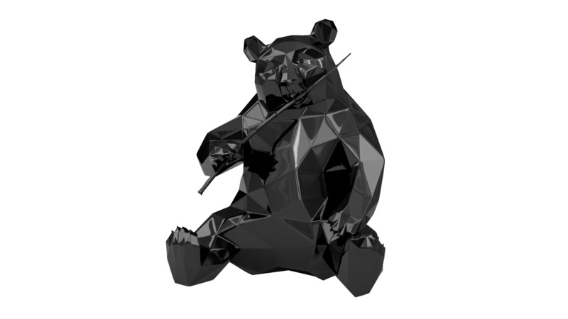 Richard ORLINSKI - Sculpture-Volume - Panda
