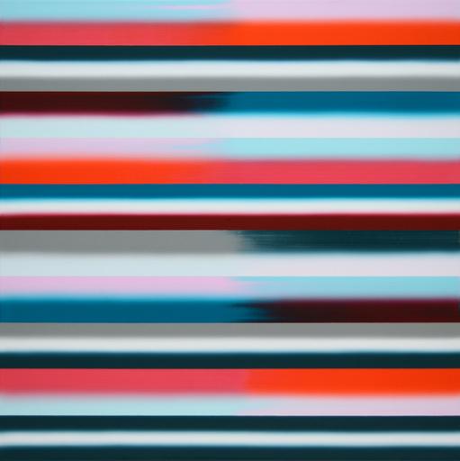 Vera LEUTLOFF - Peinture - Horizont: Tau II