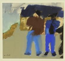 René QUÉRÉ (1932) - Deux marins