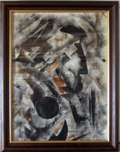 Ossip ZADKINE - Drawing-Watercolor - Composition Cubiste