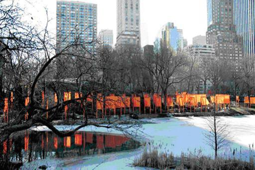 CHRISTO - Print-Multiple - The Gates: Project for Central Park, NYC