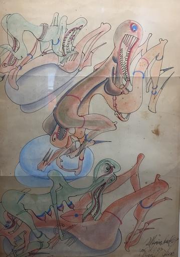 ERRÖ - Drawing-Watercolor - sans titre