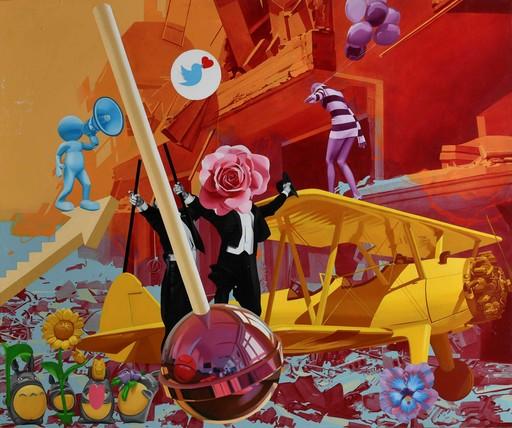Andriy HALASHYN - Painting - I Like my lollipop