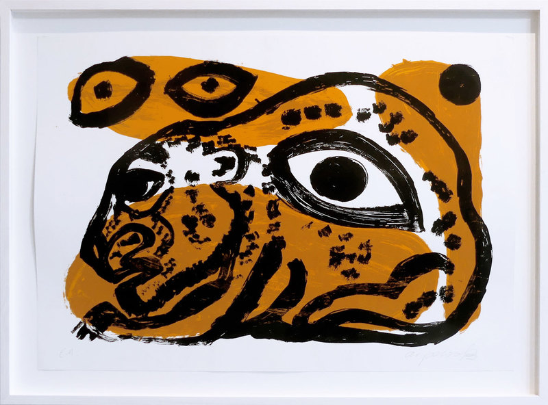 A.R. PENCK - Print-Multiple - Löwe
