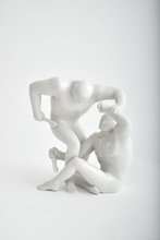 Cleon PETERSON - Cerámica - Destroying The Weak (White)