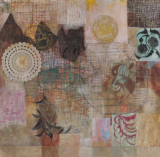 Amar DAWOD - Pintura - The Ta-Sin of the Circle I