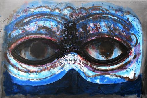 Josep PUIGMARTI VALLS - Pintura - Antifaz - Mask