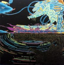 Toru ISHII (1981) - Hawk on Screen Pattern