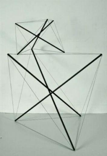 Bruno MUNARI - Sculpture-Volume - Tensostruttura