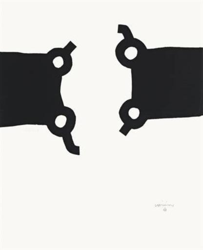 Eduardo CHILLIDA - Print-Multiple - Olimpíada Seul, 1988