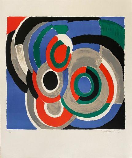 Sonia DELAUNAY-TERK - Print-Multiple - Hommage à Stravinsky
