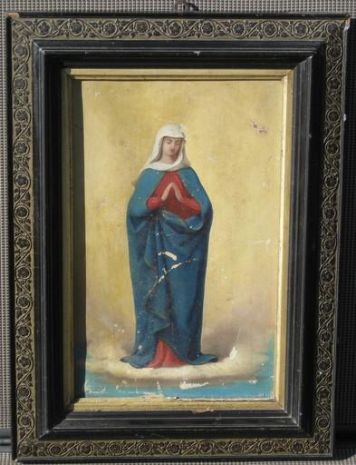 Karl Anton Heinrich MÜCKE - 绘画 - Mutter Gottes