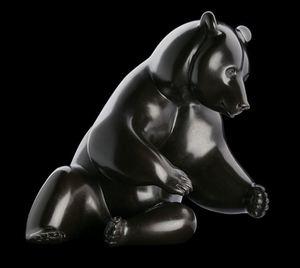 Michel BASSOMPIERRE - Sculpture-Volume - Les Saumons n°9