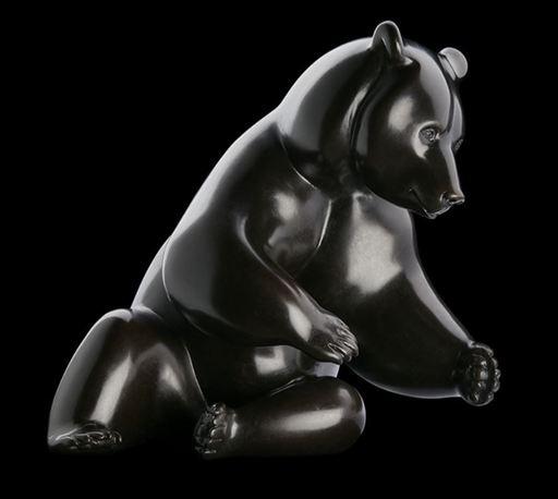 Michel BASSOMPIERRE - Skulptur Volumen - Les Saumons n°9