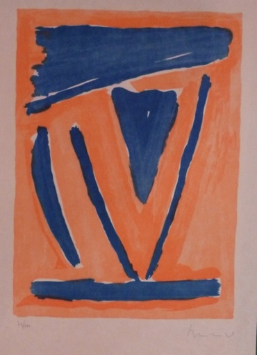 Abraham Gerardus VAN VELDE - Stampa-Multiplo - Sans titre