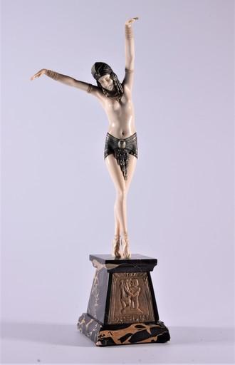Dimitri CHIPARUS - Sculpture-Volume - Egypcian dancer