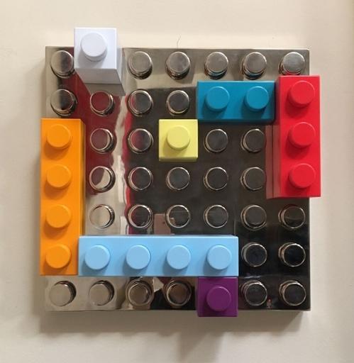 Matteo NEGRI - Sculpture-Volume - L'Ego Mondrian