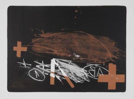 Antoni TAPIES - Print-Multiple - A effacé