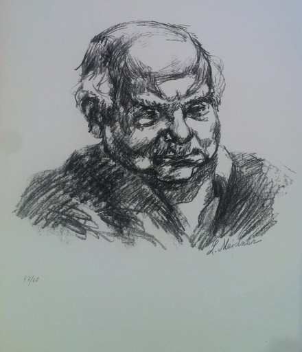 Ludwig MEIDNER - Stampa Multiplo - Autoportrait