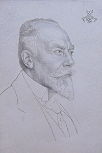 Emil ORLIK - Print-Multiple - Portrait of Christian Kraft Fürst zu Hohenlohe-Öhringen