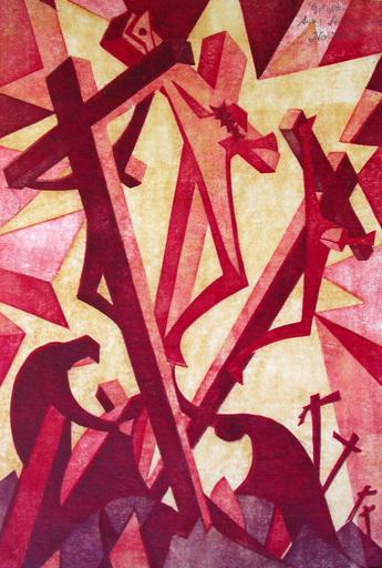 Sybil ANDREWS - Stampa Multiplo - Golgotha