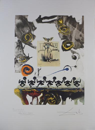 Salvador DALI - Stampa-Multiplo - Memories of Surrealism Surrealist Gastronomy Trial Proof