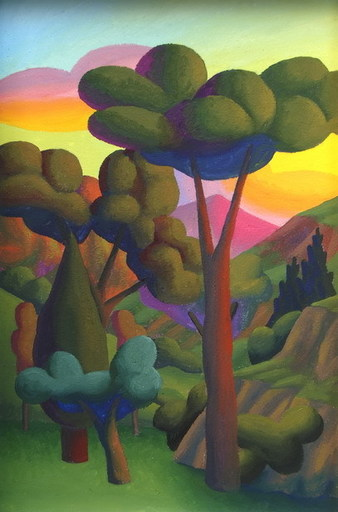 SALVO - Painting - La valle