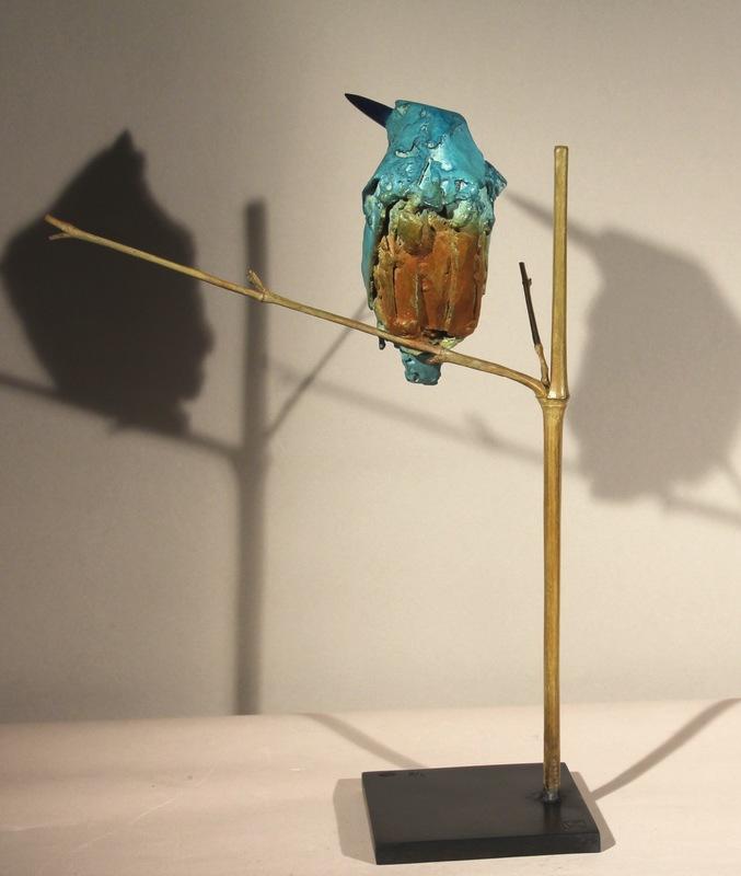 Bertrand FAUCONNET - Sculpture-Volume - Martin pécheur IV