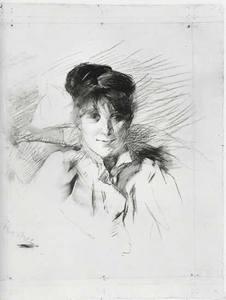Henri DE TOULOUSE-LAUTREC, Portrait de Femme