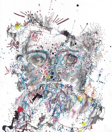 Michael ALAN - Drawing-Watercolor - Morning Jitters