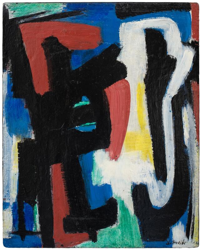 Gérard SCHNEIDER - Painting - Opus 348